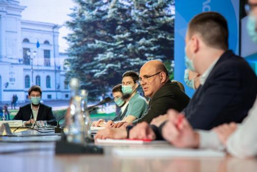 Премьер-министр ответил на вопросы томских студентов-предпринимателей